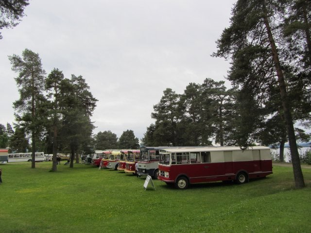 Foto: Øyvind T. Gilja.                                     Utstilling i parken